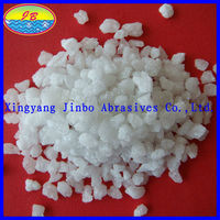 hot sales sand blasting media white fused alumina/white corundum for glassmaking