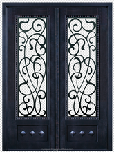 Fancy expanded security doors design exterior metal french doors