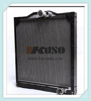 heavy duty truck engine radiator with cap for MITSUBISHI FUSO 8DC9 6D24 mixer parts