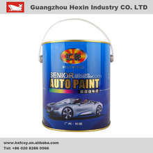 Modified Waterborne Alkyd-Amino Coatings paint