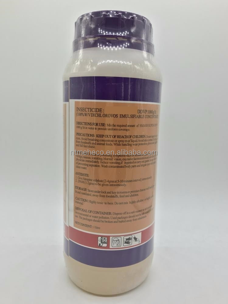 HOT SALE AGRICULTURAL INSECTICIDE 100% W/V DICHLOROVOS EMULSIFIABLE CONCENTRATE DDVP