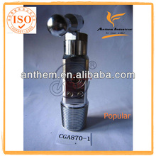 Pin index Valve For Oxygen Cylinder Plate chrome