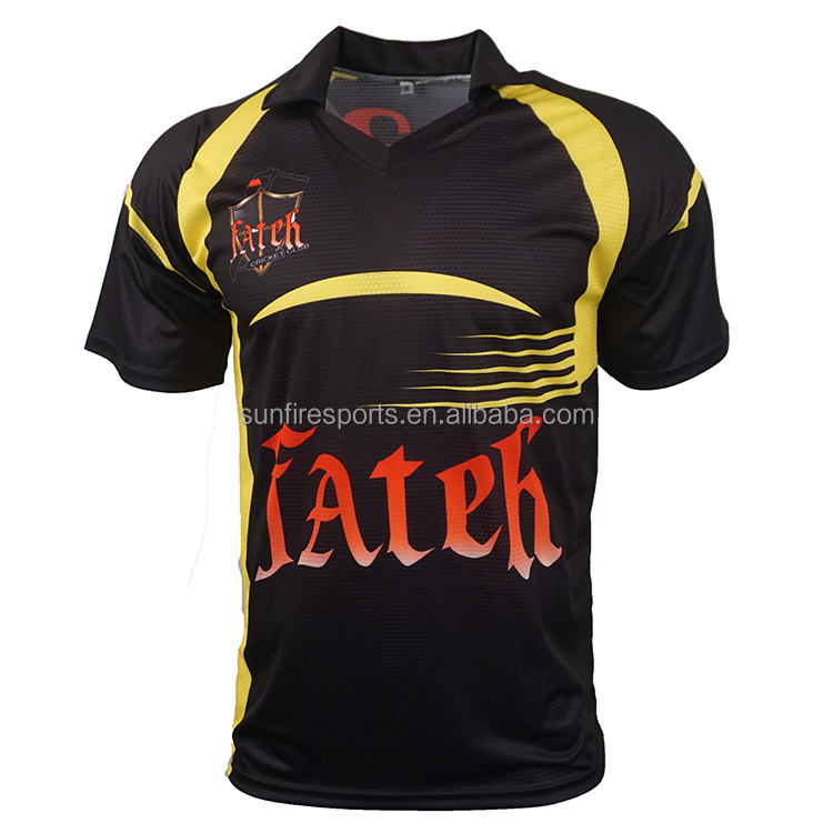 custom sublimated cricket uniforms design