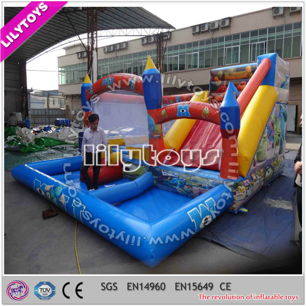 Lilytoys Top selling Inflatable Comercial Water Slide for play