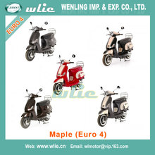 China factory cheap new efi sport scooter chinese gas 125cc muticolor sscooter Euro4 EEC Scooter Maple 50cc, (Euro 4)