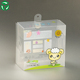 Chinese factory soft crease transparent custom-made plastic box