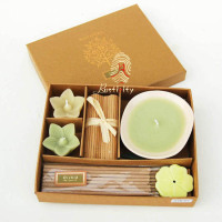 gift set cheap beeswax candle ,luxury gift box cheap beeswax