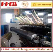 Hot sell computer control transparent plastic film slitting and rewinding ,slitter and rewinder machine with bottom price