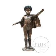 large outdoor copper sculptures children garden sculpture