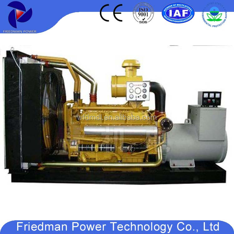 Shangchai engine diesel generator set of 700KW