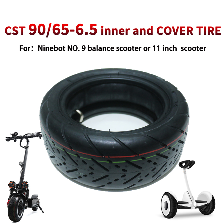 CST 90/65-6.5 inner and cover <strong>tire</strong> for XiaoMi NO.9 Ninebot Gyro smart Balance Car Balance Scooter and 11 inch scooters