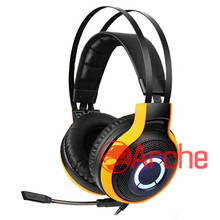 Best sell wired stereo noise cancelling customer logo gaming headphone microphone gamer headset