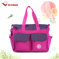 Women's Mummy Baby Large Capacity Polyester Waterproof Diaper Handbag