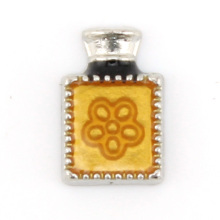 Fashion Personalized Perfume Bottles Charms With Flower Pattern SKPD208