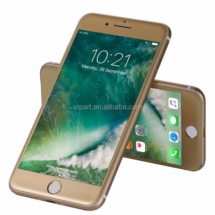 Clear Front Full Cover 3D Curved Edge Tempered Glass Film Screen Protector For Iphone 6 6s