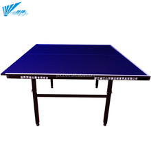 Cheapest 12mm MDF Indoor Foldable Table Tennis Table(in stock)
