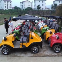high quality small 2 seater solar golf buggy mini electric golf cart