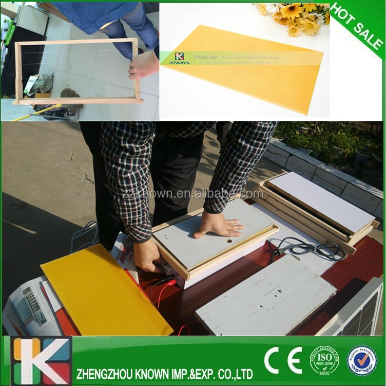 Beekeeping electric heating wire embedder/electric wire embedder