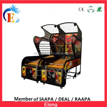 2017 Popular coin operated basketball game machine street basketball arcade game machine