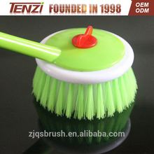 promotional Cleaning plastic home pot brush dish brush household plastic cleaning toilet brush & holder--bathroom set china