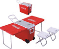 HOT seller foldable table cooler with chairs for Christmas