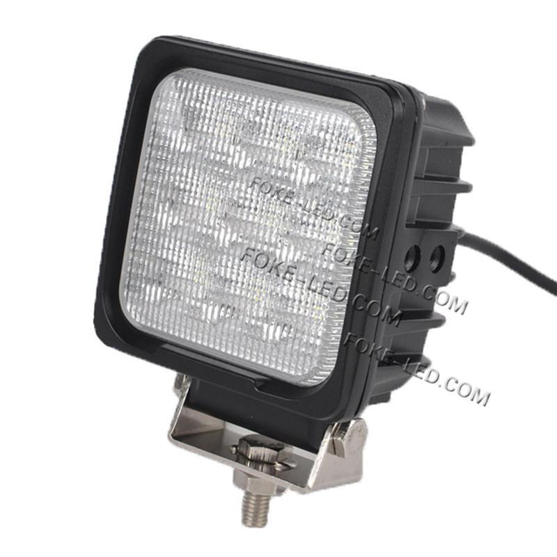27w Led Work Light : W led work light square waterproof ip