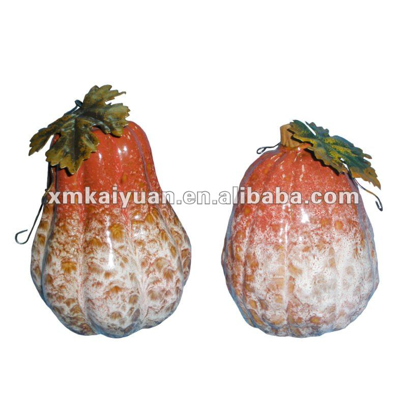 Harvest ceramic decorative pumpkin wholesale