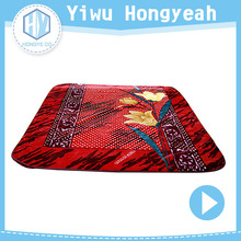 Customized lightweight blankets high quality mink blanket