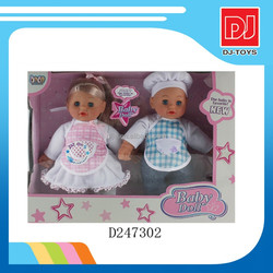 2014 lovely lifelike baby doll toy set 11.5 inch baby toy china doll factory