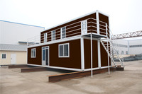quality prefabricated mobile caravan shipping portable pack container