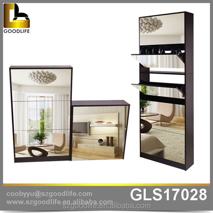 china modern bedroom sets full mirrors luxury shoe cabinet
