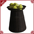 Hot selling washable PE plastic floor vegetable display stand for supermarket