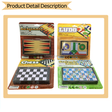 Popular chess games, children's funny game with 4 styles (chess, ludo, backgammon, snake and ladders)