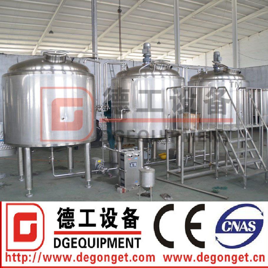 1500L industrial micro beer brewing equipment for sale