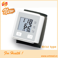 writst digital blood pressure monitor with 90 sets of memory