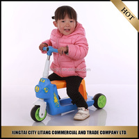 Custom kid tricycles 3 wheel scooters for toddlers