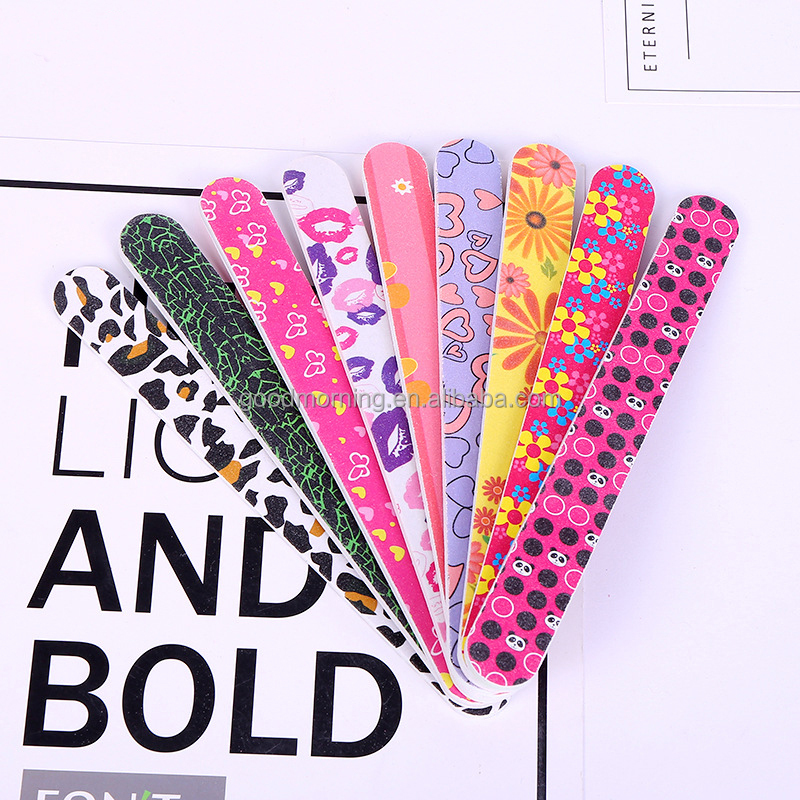 Wholesale 17cm Double Printing Nail File In Stock