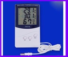 Lcd Display Digital Thermometer Hygrometer TA318 With Sensor