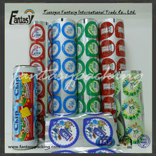 Fruit jelly printing packaging film