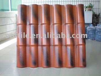 Synthetic Resin ASA Bamboo Roof Tile