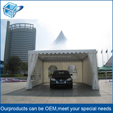 Aluminum Frame PVC Fabric Waterproof Fireproof Small MOQ 1PCS Large Event Tent Exhibition Tent Auto Show Tent