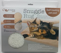 Self Heating Pet Bed with Non Slip Base. Keeps Your Pet Cozy and Comfortable
