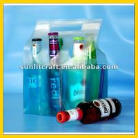 six pack gel wine chiller bags