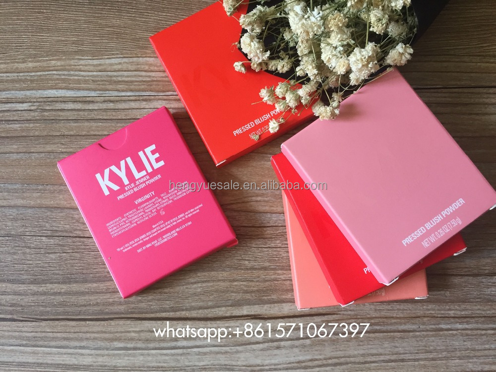 Brand kylie cosmetics 5colors blush makeup Hopeless Romantic powder blush