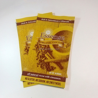 Accept Custom Order Alumiun Foil CMYK Printing Stand Up Pouch Cocoa Bag