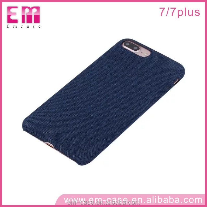 Phone Case Protective PU Leather Cover Shell for iPhone 7 Durable Ultrathin Denim PU Leather Case Cover for iPhone 7