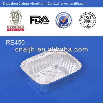 takeaway aluminium foil food container