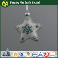 Various Design Glass Star For Home