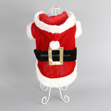 Clothing Christmas Dog Clothes Dog clothes for winter Pretty Christmas dog costume QPA-0022
