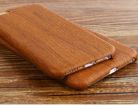 For iphone 6 6s case,Luxury Wood Grain Soft PU Leather TPU back cover case,case for iphone6 6s
